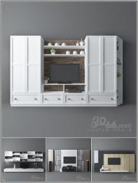 3darcshop TV & Media Furniture 01-64