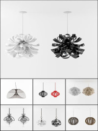 3D Models Chandelier Collection from 3D66