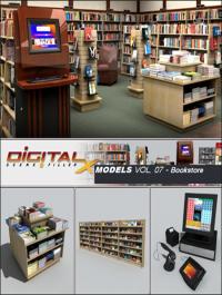 Digitalxmodels Vol 07 Bookstore