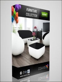 CGAxis Models Volume 7 Furniture