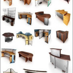 BN Office Furniture 3d Collection Models
