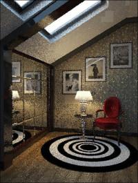 Vray Interior Scene