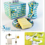 3DDD Bathroom Accessories