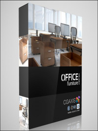 CGAxis Models Office Furniture Volume 11