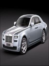 Rolls Royce GHOST 3dsmax model