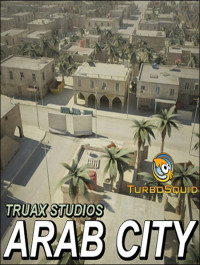 Turbosquid Arab Cityscape Set 02 Low Poly