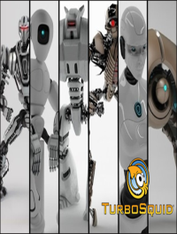 TurboSquid Robot Collection 16