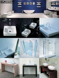 3D Flaminia Bathroom collection