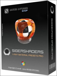 SIGERSHADERS V-Ray Material Presets Pro 2.5.16 For 3ds Max 2010 2013