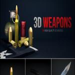 Rodypolis 3D Weapons Pack