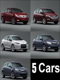 5 CG River Car models