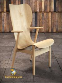 TurboSquid Artek Domus Lounge by BBB3viz