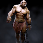 Gnomon Assets Fully lit Rigged & Textured Troll