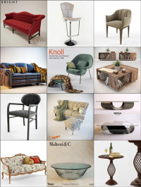 3dsky Furniture Collection 2014