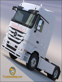 Turbosquid New Mercedes Actros Space Cab