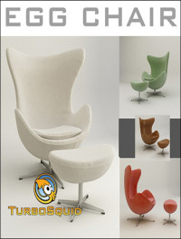 TurboSquid Egg Chair