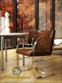 TurboSquid Brno Chair by BBB3viz