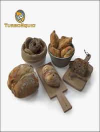 TurboSuqid Bread Assets by BBB3viz