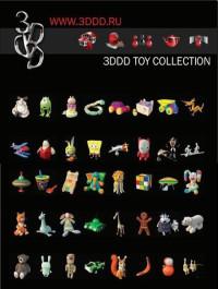 3DDD Toys highres models