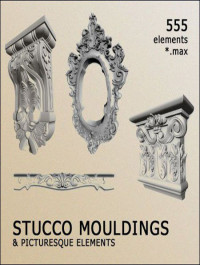 3D Models Decorative Items Stucco Mouldinds