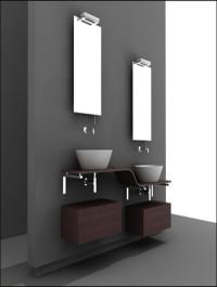 Eurolegno Bathroom Fixtures 3D Model