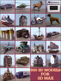 500 Models HQ and Textures