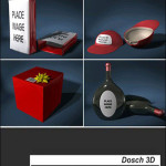 Dosch Design 3D Product Packaging Design V1
