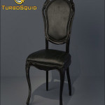 TurboSquid Moooi Smoke Dining Chair