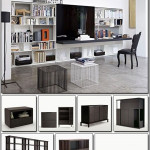 B&B Italia 3D Storage & Wall Systems 3d Models