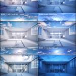3d Ocean Guthrie Exterior Seamless HDRI Panoramas