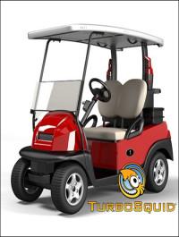 TurboSquid Golf Car