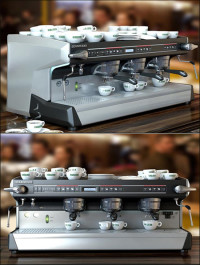 Professional Coffee Machines Rancilio 3 Groups