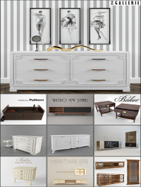 Classic Sideboard and Chest of Drawer
