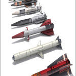 14 3d Weapons Collection OBJ with textures