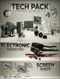 The Pixel Lab 3D Tech Pack