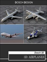 Dosch Design 3D Airplanes