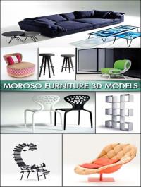 Moroso Modern Interior Furniture 3D models