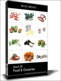 DOSCH DESIGN 3D Food & Groceries
