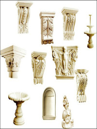 Decorative Gypsum 3D Models part 2