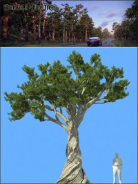 R&D Group iTrees vol 5 Pine Trees