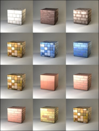 Vray4C4d Materials Pack Tiles for walls and floors