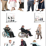 DoschDesign 2D Viz People Seniors & Handicapped