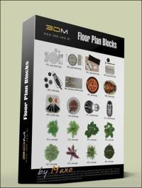 3DM Floor Plan Blocks