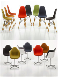 12 vitra Eames chairs
