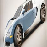 Bugatti Veyron Cinema 4D Model