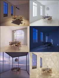 Viscorbel Vray Interior Lighting