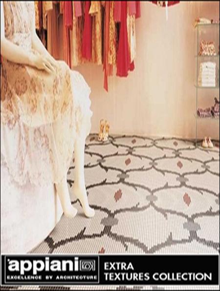 Appiani mosaic and ceramiche tile textures for Ceramiche appiani