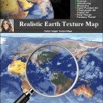 3docean Earth Texture Map
