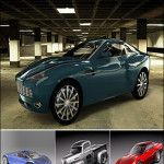 BMTee's Cinema 4D Car Model Pack