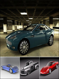 BMTee's Cinema 4D Car Model Pack